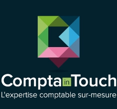 logo comptain touch footer